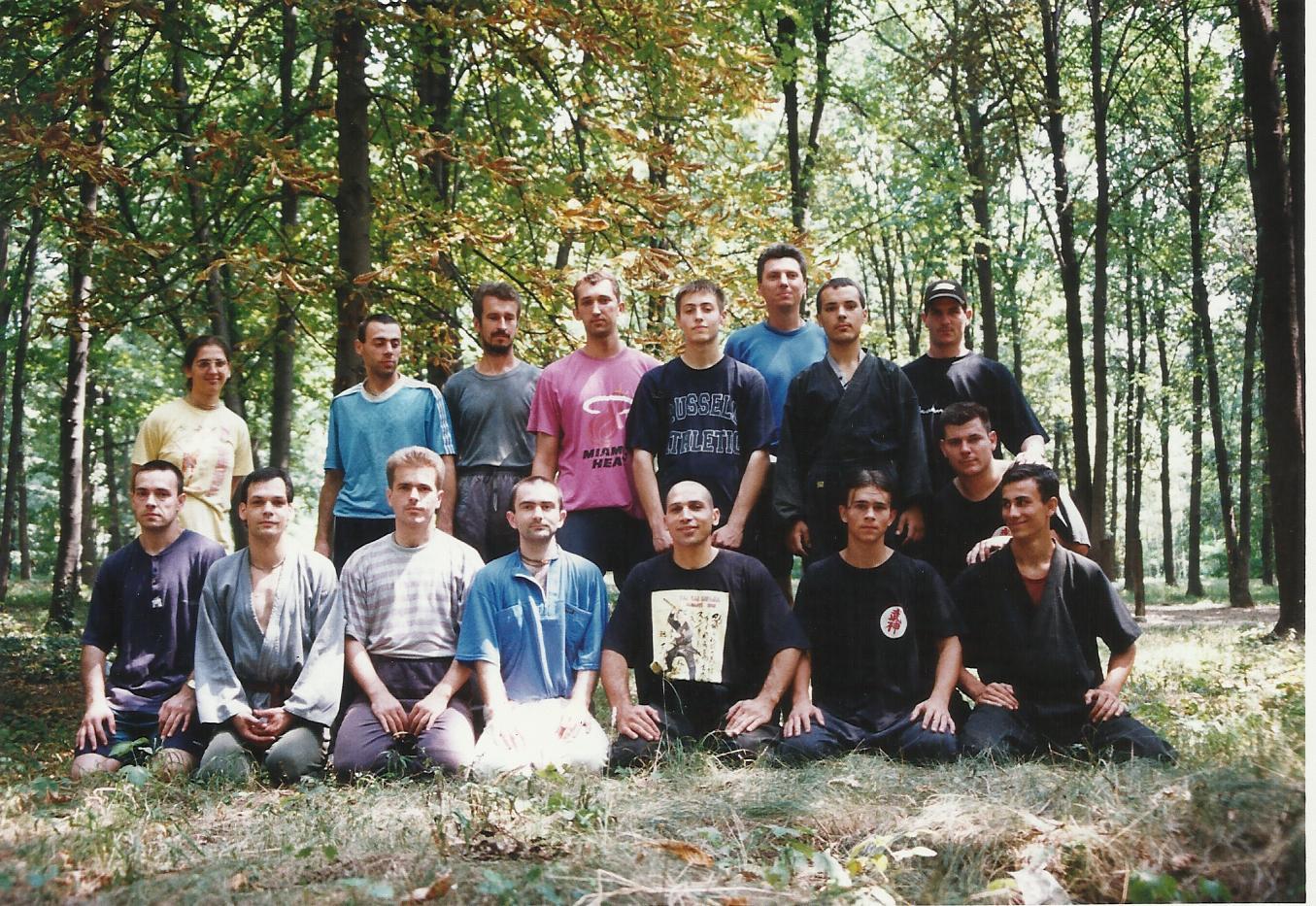 bujinkan ninjutsu borilačka veština ninja kamp